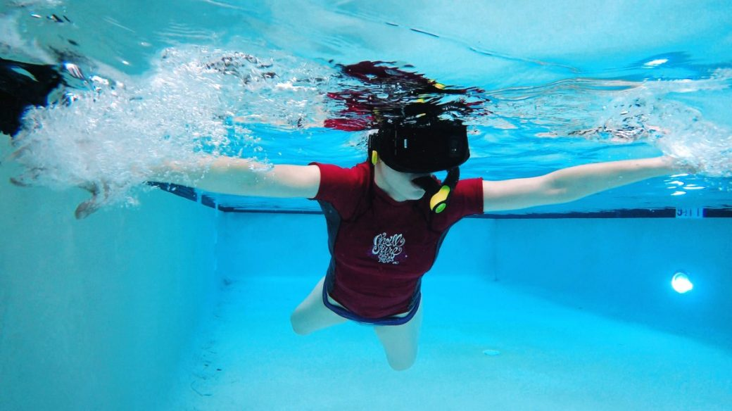 Underwater Virtual Reality – AN iDEA A DAY
